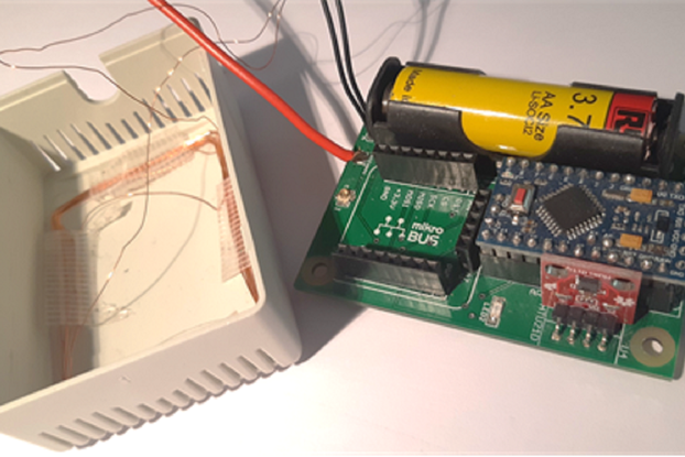 NFC - LoRa Node Low Power with MikroBUS