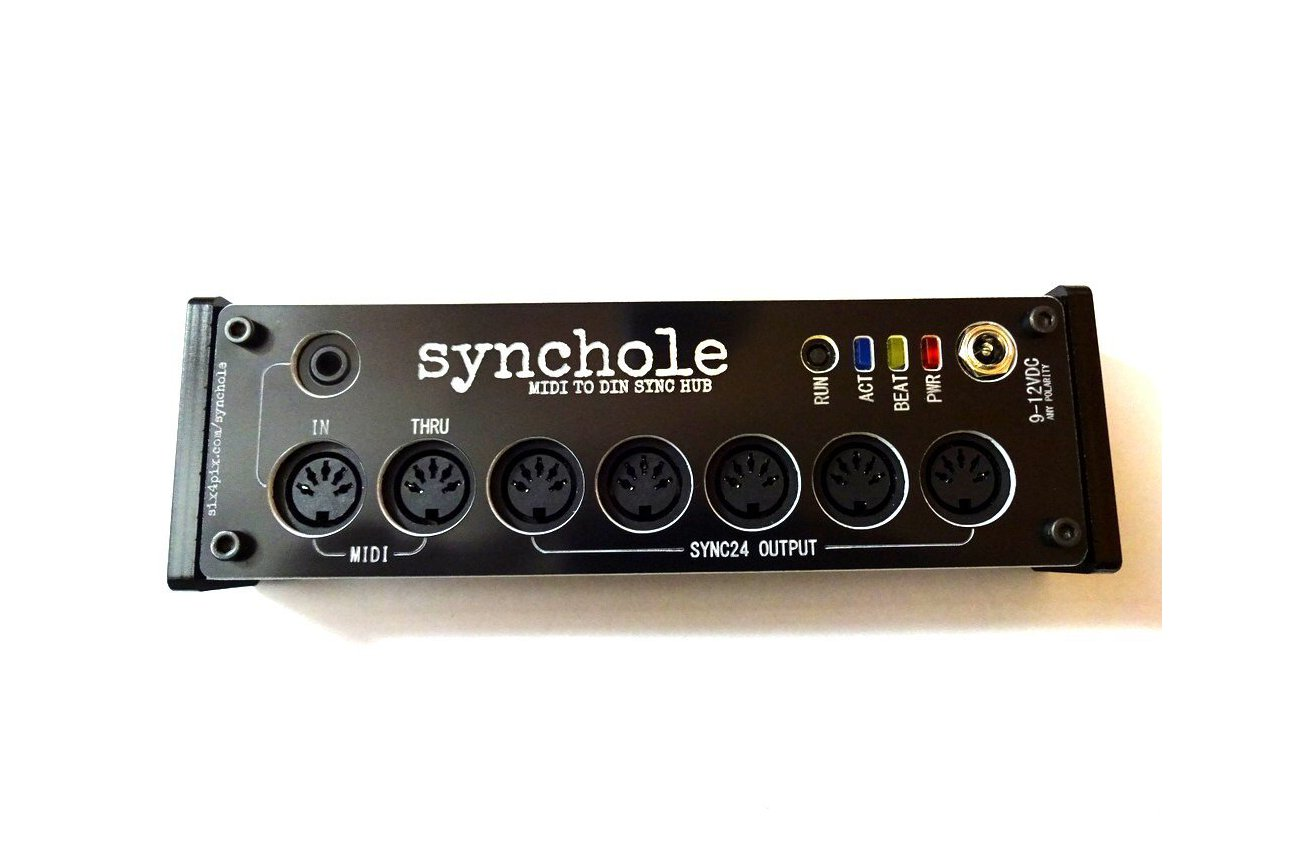 Synchole - MIDI to DIN SYNC box