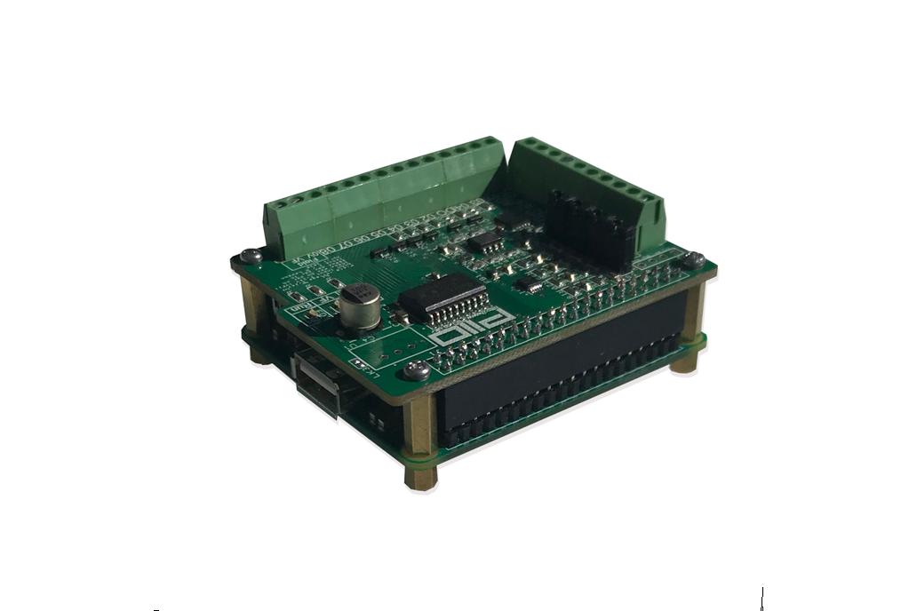 Raspberry Pi PiIO analog / digital IO board 1