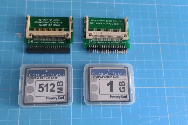 "CF Memory Card to 44pin 2.5"" IDE Adapter"