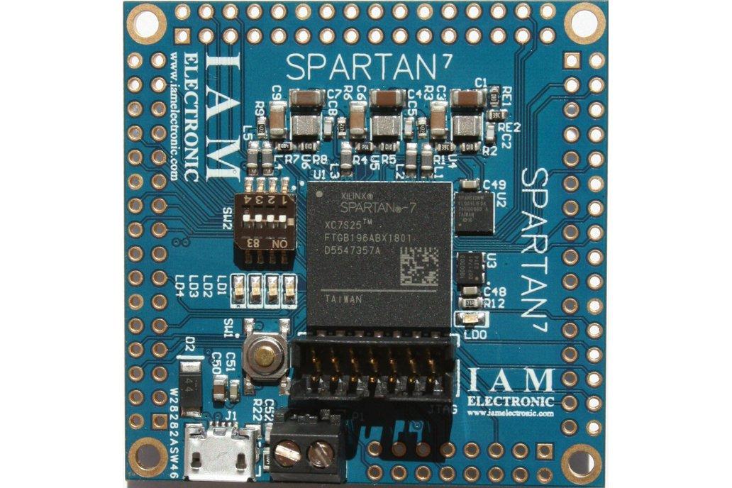 Xilinx Spartan-7 FPGA Board 1