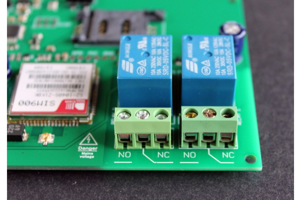 GSM Multi Switch - mobile phone relay remote ctrl 2