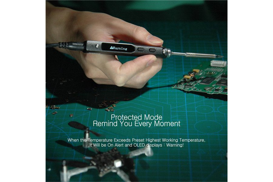 Digital OLED Programable Soldering Iron Station