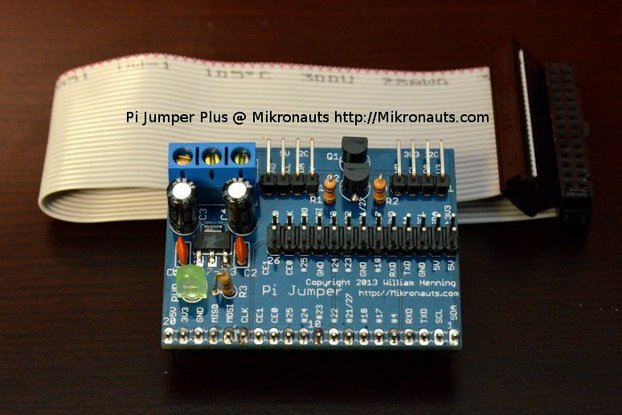 Pi Jumper Plus for Raspberry Pi
