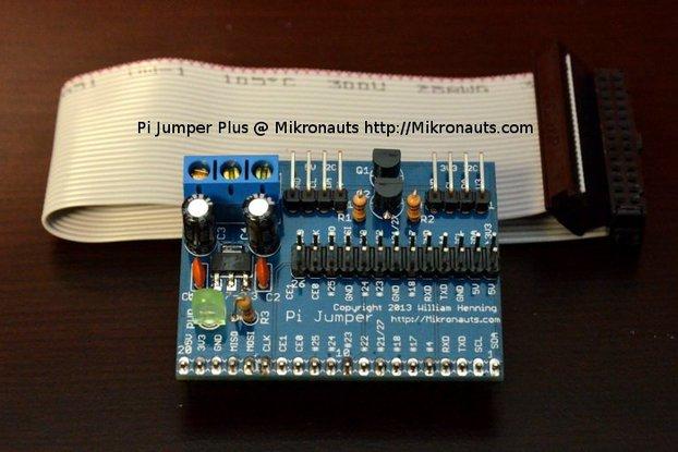Pi Jumper Plus for Raspberry Pi
