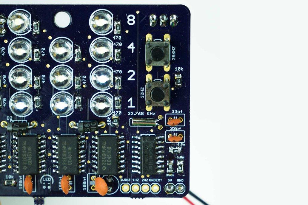 Binary Crap Clock Kit 4