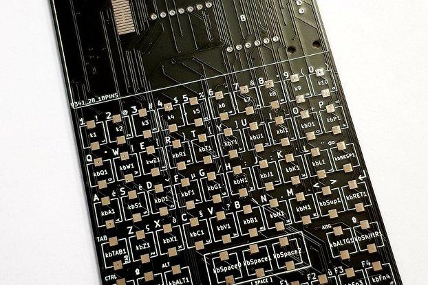 BLAKRPI SHORT PCB