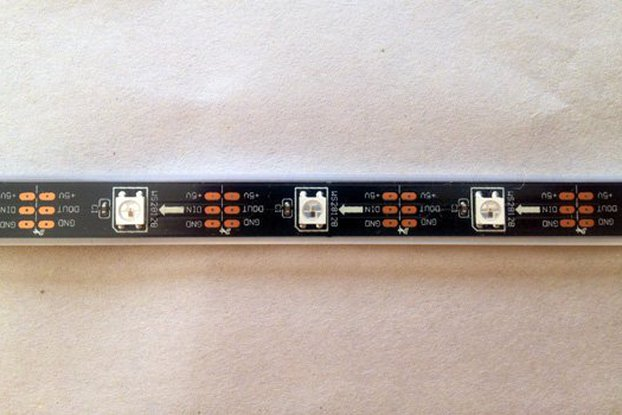 WS2812B 15 LED 0.5m Strip