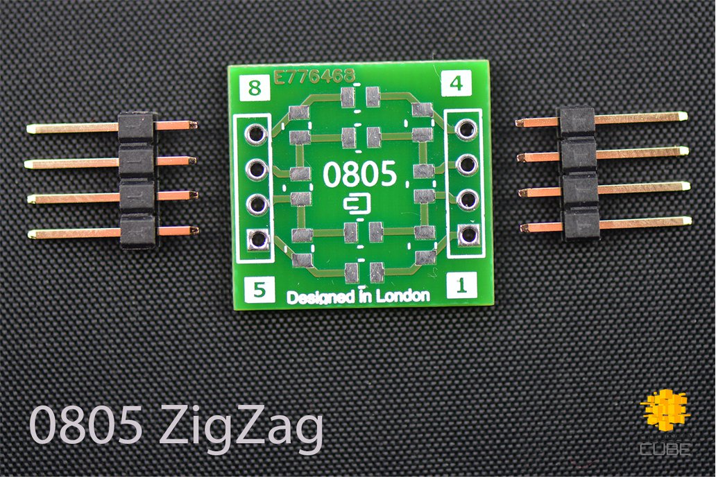 ClosedCube SMD 1206/0805 ZigZag Double-Sided PCB 2