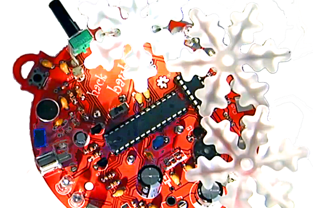 Hack UR Baubles : Arduino Christmas Lights controller : Complete kit : Battery powered version
