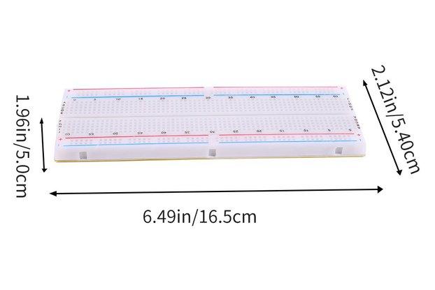 5PCS MB-102 Solderless Breadboard_GY19399