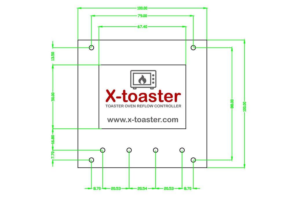 X-toaster | Toaster Oven Reflow Controller - KIT 6