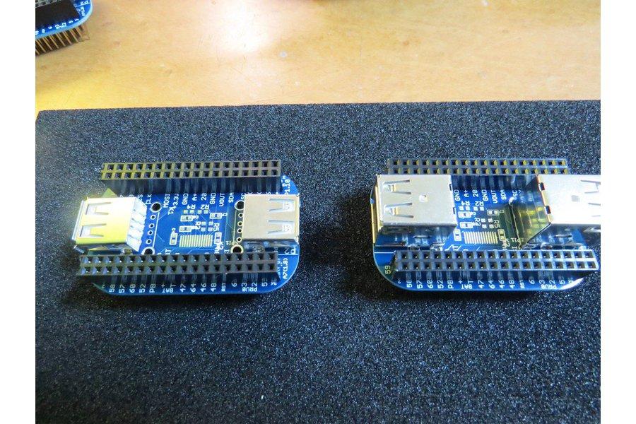 2/4-port USB 2.0 HUB Cape for PocketBeagle
