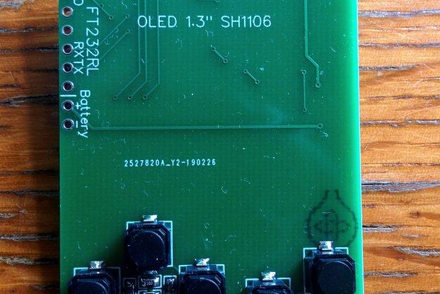 Pimp my RC522 board (gameboy style, Esp-12F based)