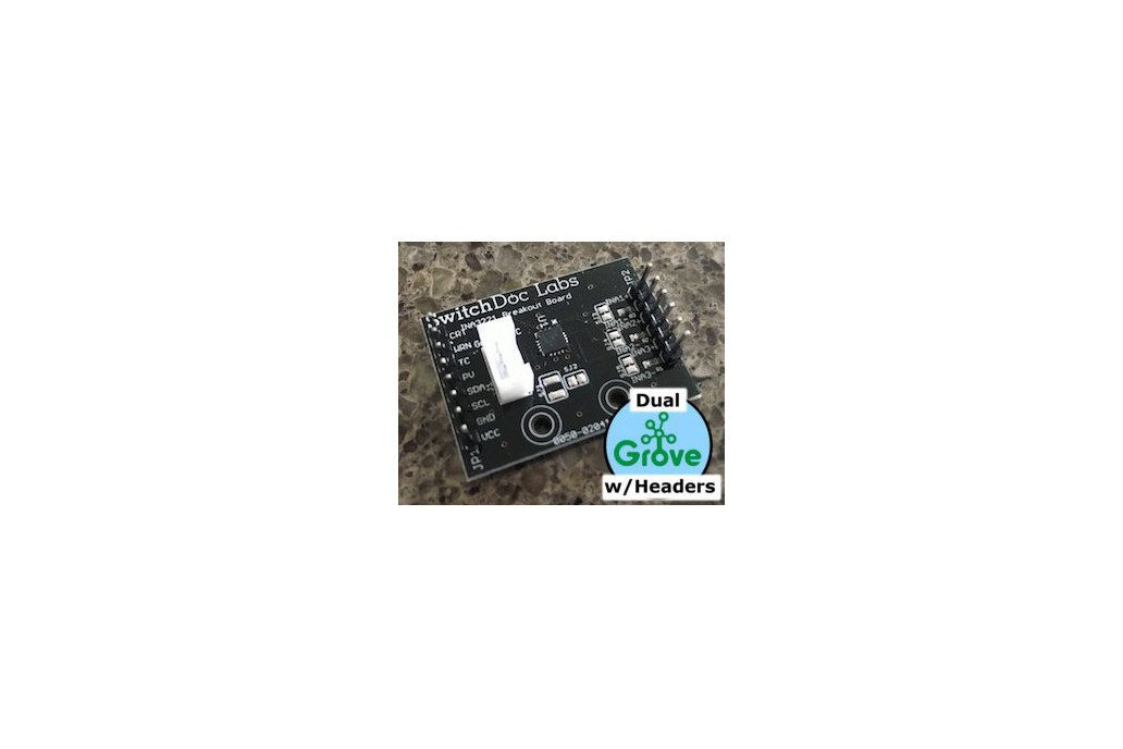 SwitchDoc  Dual Grove/Pin INA3221 Breakout Board 1