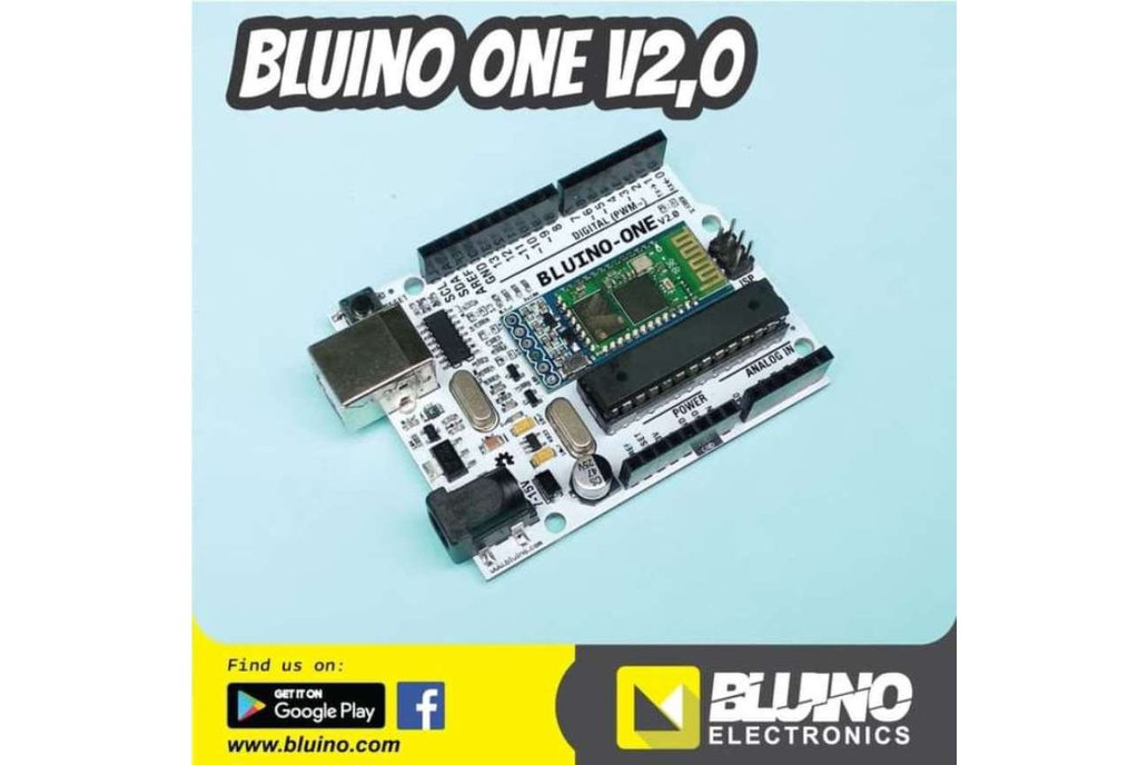 Bluino-One V2.0 ( Arduino Uno + Bluetooth HC05 ) 1