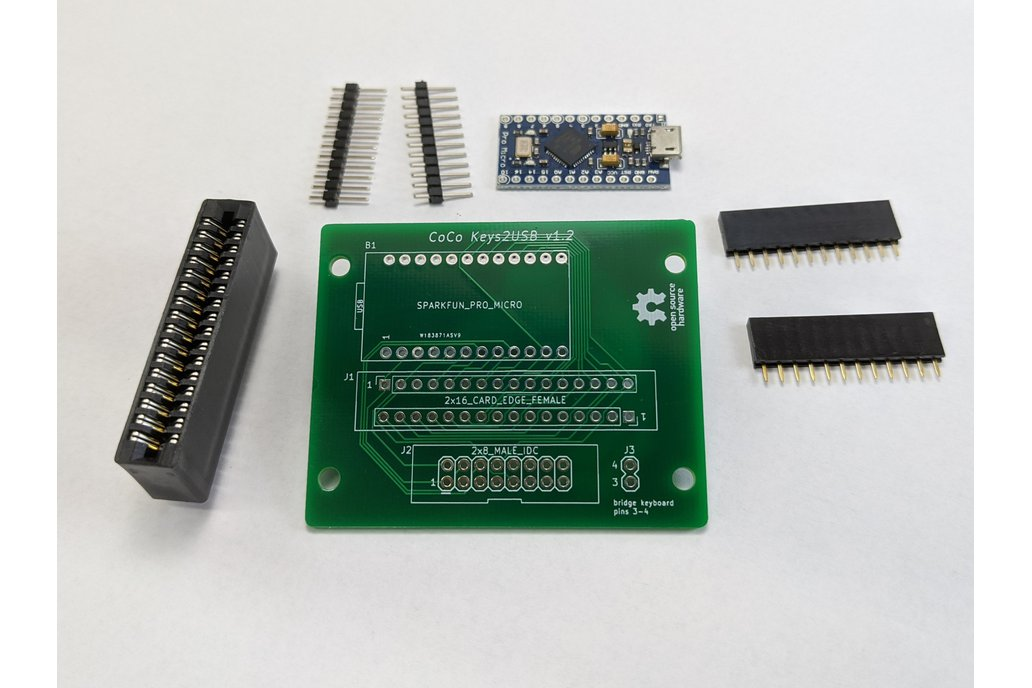 CoCo Keys2USB - Kit 1
