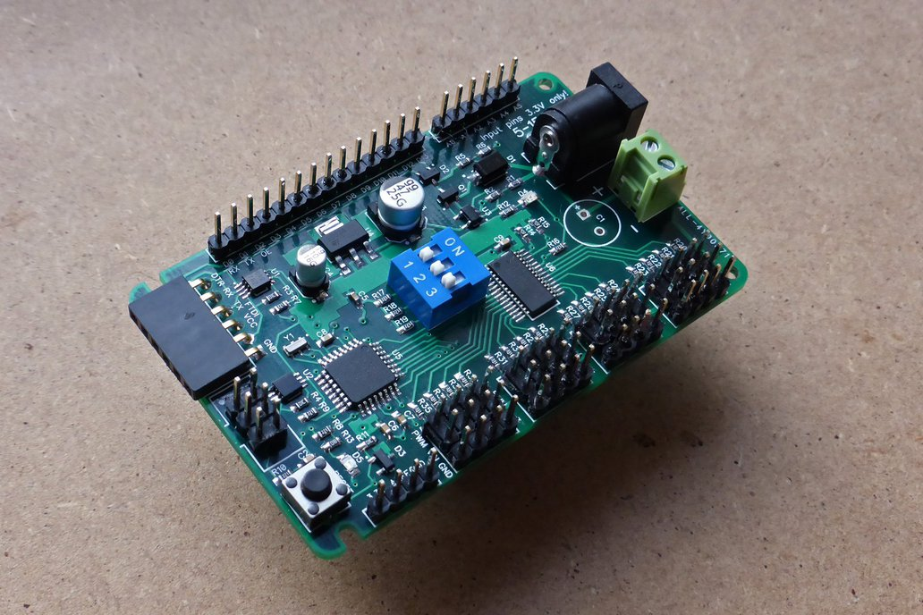 ATmega 328P development board with 16-channel PWM 1