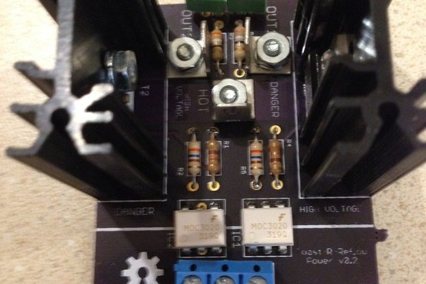 Toast-R-Reflow Power board kit