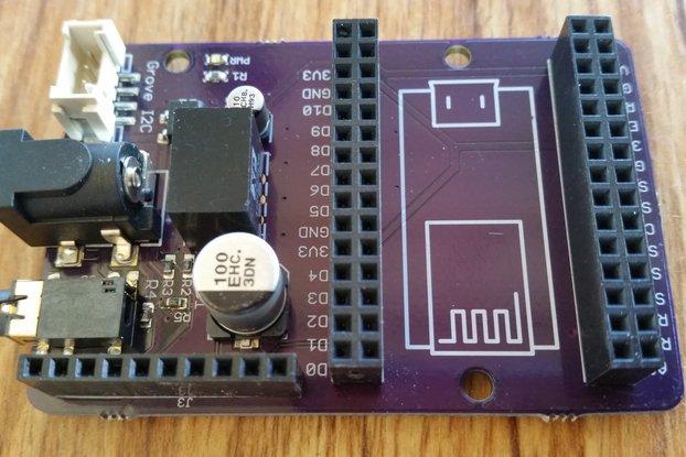 NodeMCU Energy Monitor SMD