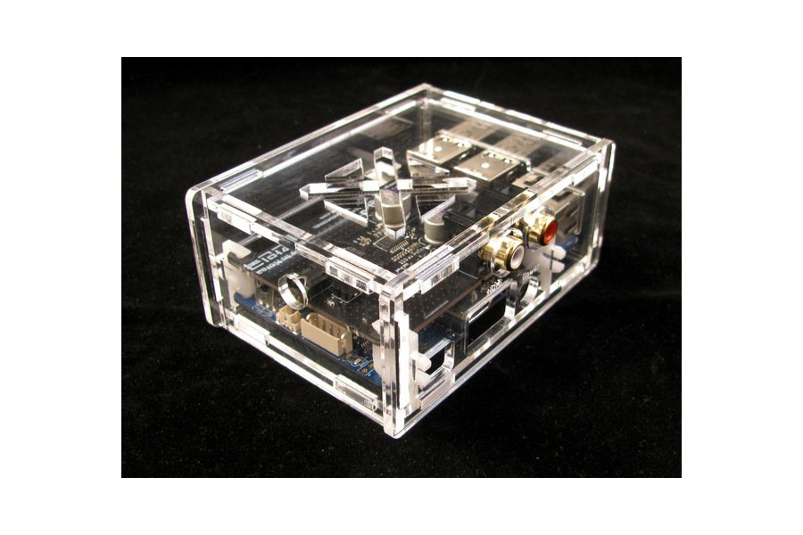 Odroid C1+ Case with HiFi Shield