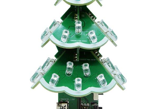 DIY Kits Colorful Remote control Music Christmas