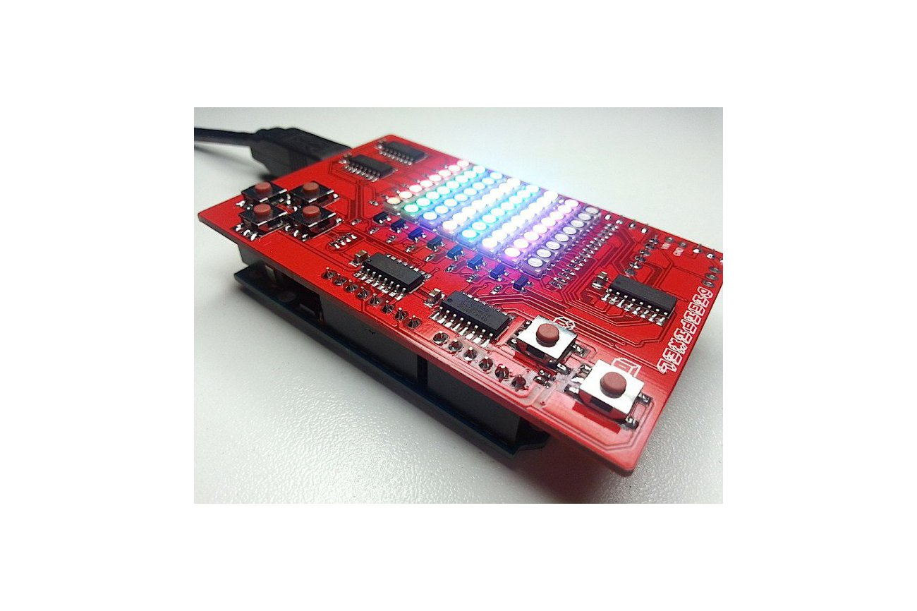 Digipixel the arduino compatible gameshield from