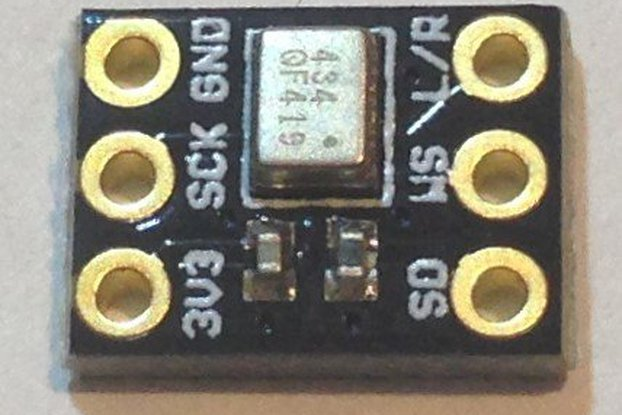 ICS43434 I2S Digital Microphone