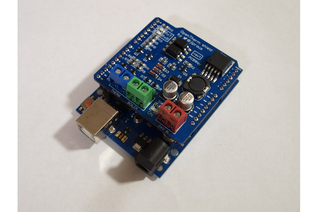 OpenTherm Gateway Arduino shield