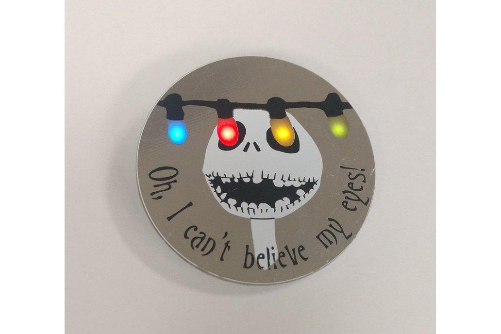 Christmas Lights Pin 1