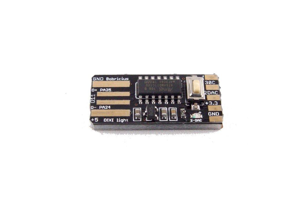 DiXi - arduino SAM ARM D11 USB stick 1