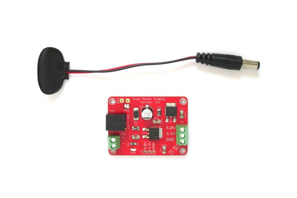 Dual regulated power supply (5.0V/3.3V) board 2