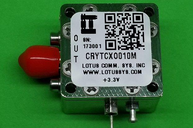 Oscillator-TXCO (Stratum 3) 10 MHz (0.28 ppm)