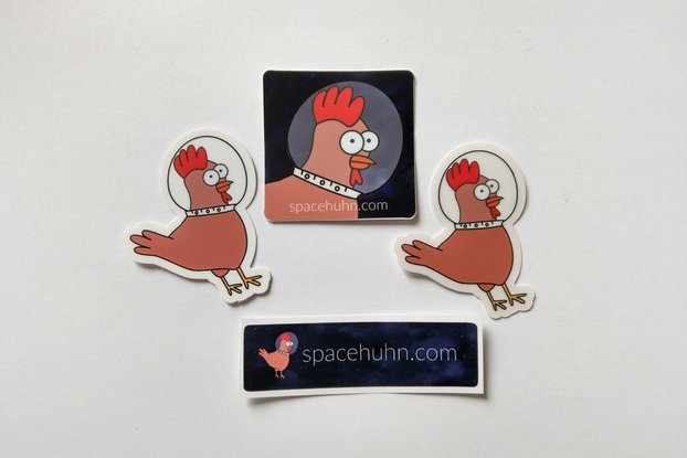 Spacehuhn Stickers