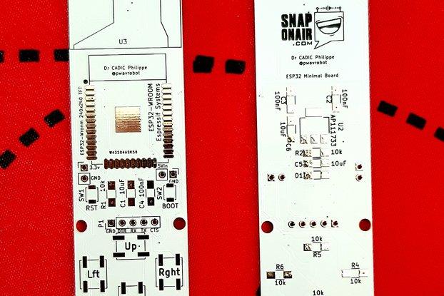 ESP32 Keyring PCB