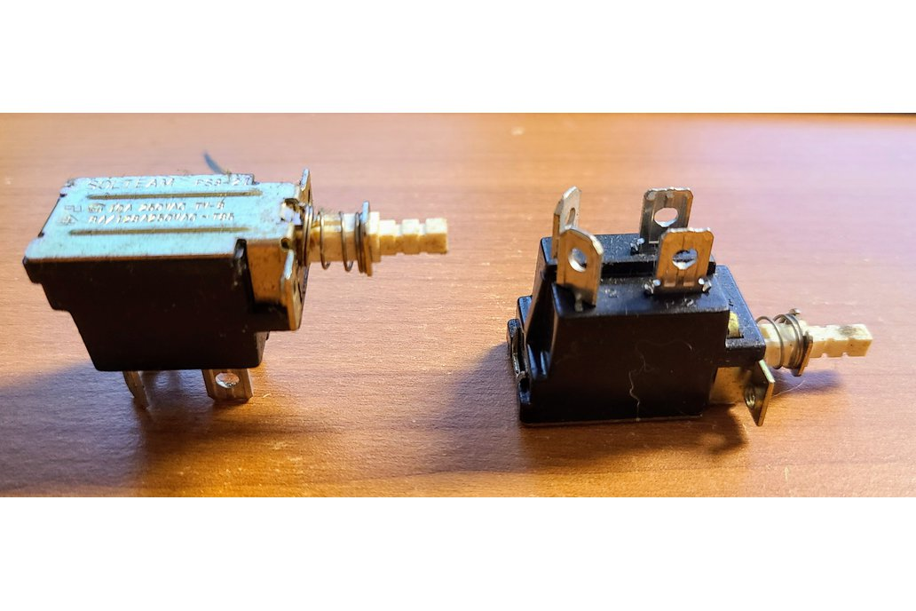 DPST Push Switch AC On/Off SOLTEAM PS3-21 1