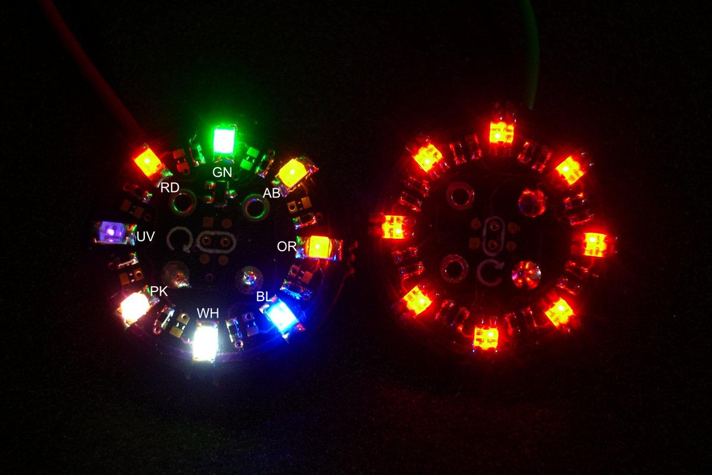 Sew-on Coat-Button - Blinky version 1