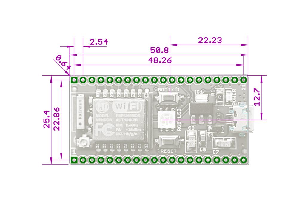 ESP8266 based SmartWIFI Development Module 2