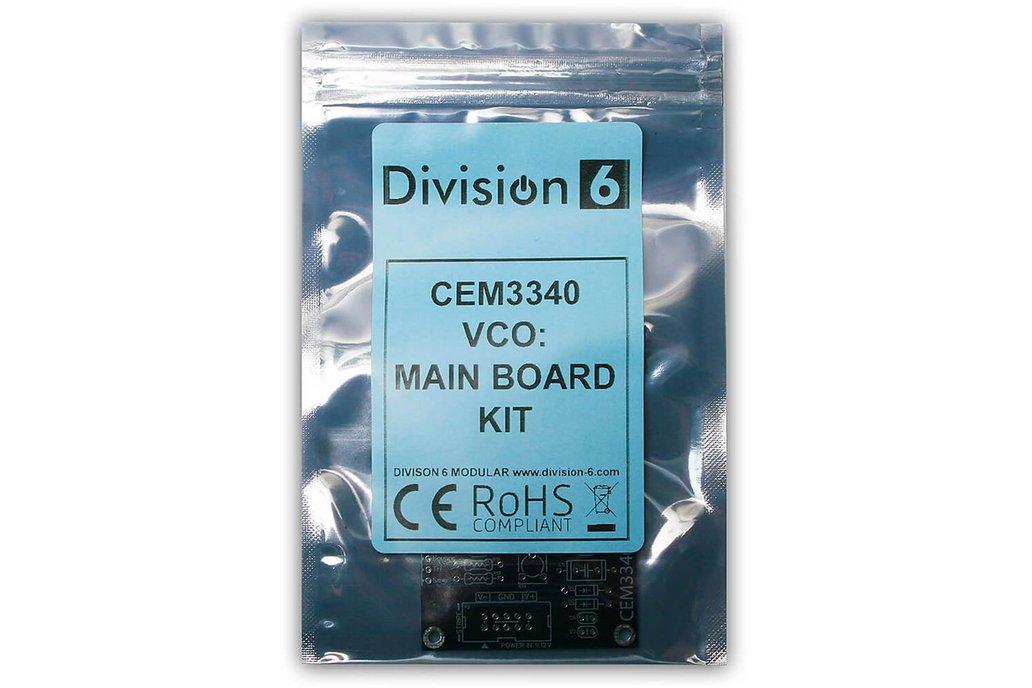 Division 6 CEM3340 VCO Main Board Kit 1