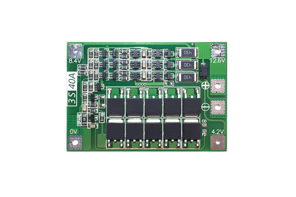 BMS 3S 18650 lithium battery Balance Board protect 1