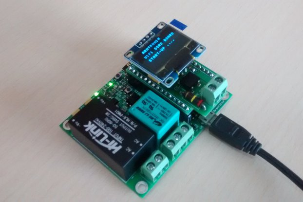 BA006:Wifi Single Relay Board