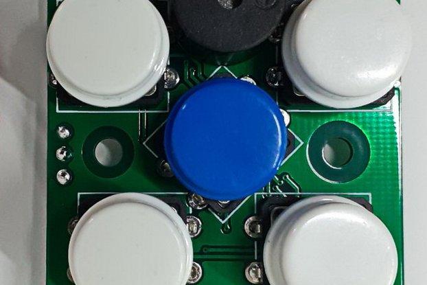 I2CUI3 - UI I2C module with 5-key RGB-LED & buzzer
