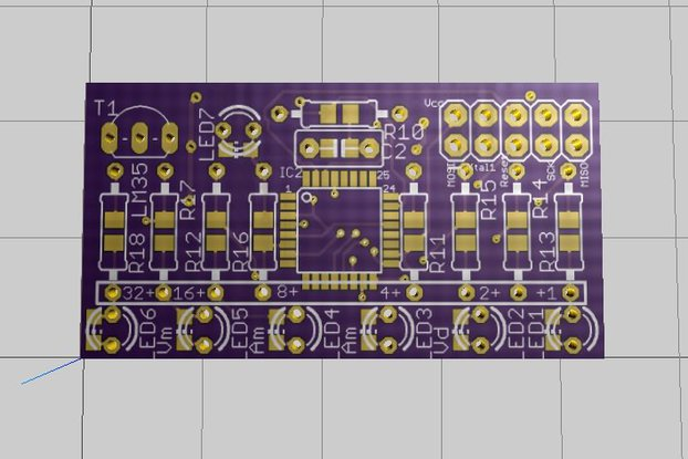 Binary Thermometer - PCB only