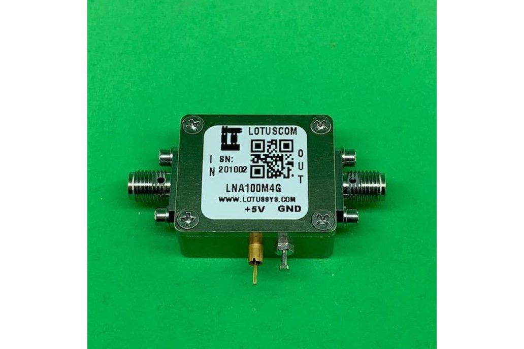 Amplifier LNA 1.3dB NF 100MHz to 4GHz 1