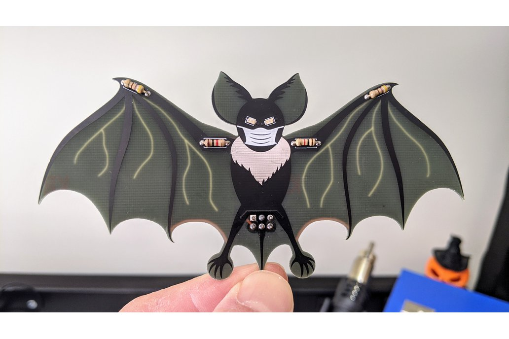Coco the Coronavirus Bat SAO 1