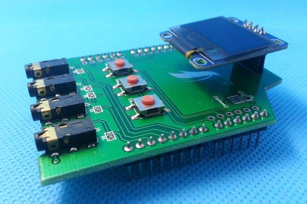 IoT Arduino Temperature & Humidity Shield & Probe