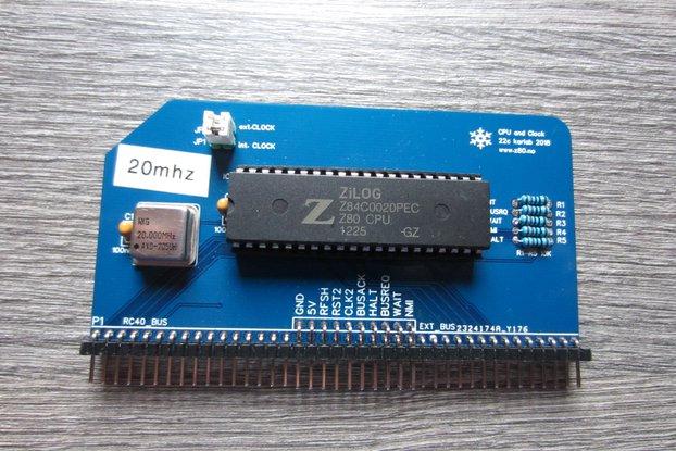 #22c Z80 CPU Module