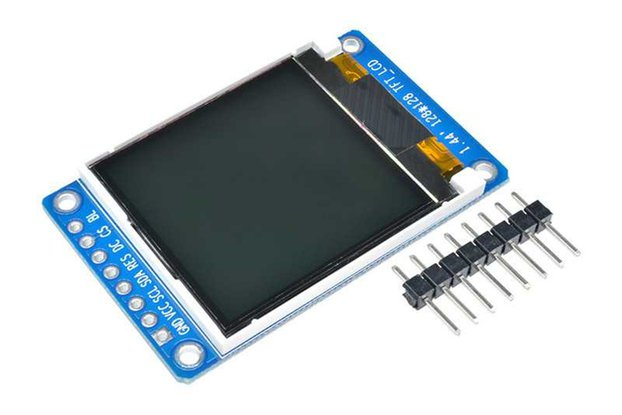 "1.44"" 128x128 Full Color TFT LCD Display Module"
