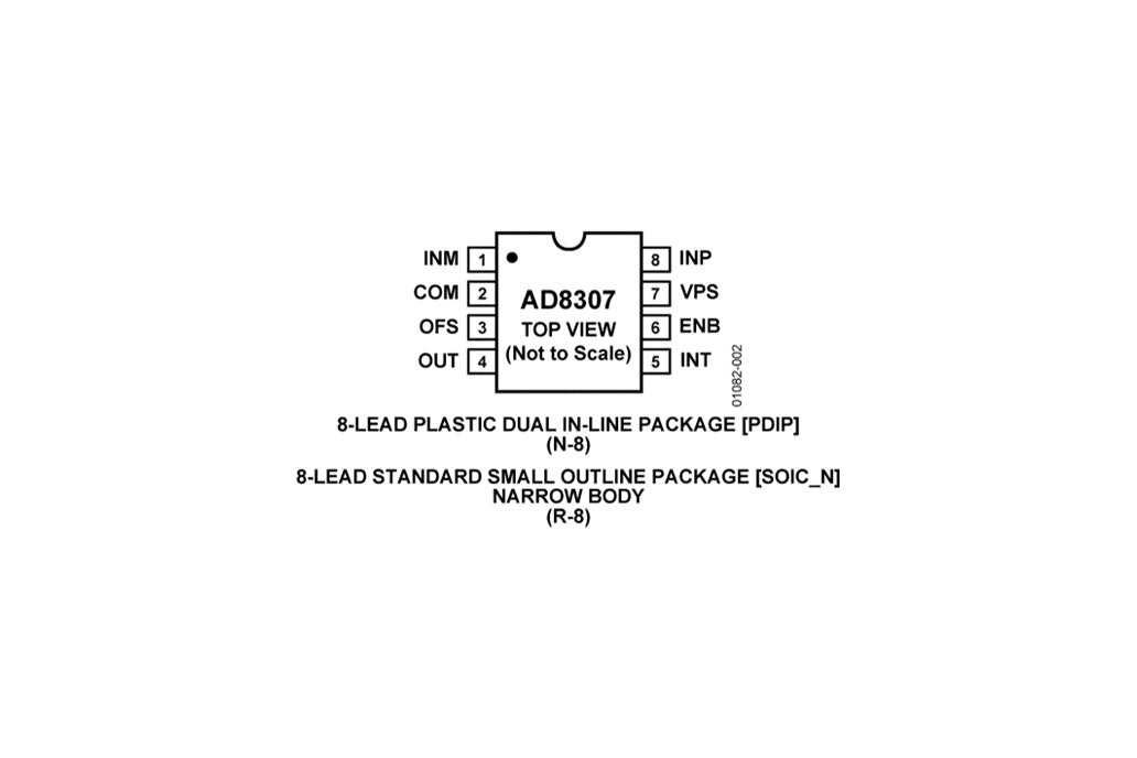 1pc Business, Office & Industrial Semiconductors & Actives AD8307 DC 500MHz 92dB Logarithmic Amp AD8307AR SOIC
