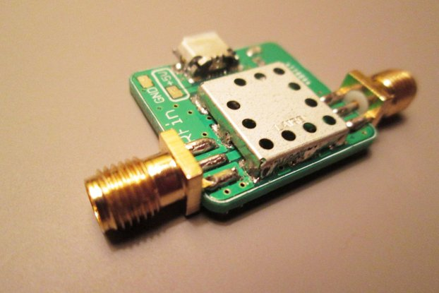 Low Noise Amplifier 100 kHz to 2000 MHz RF LNA